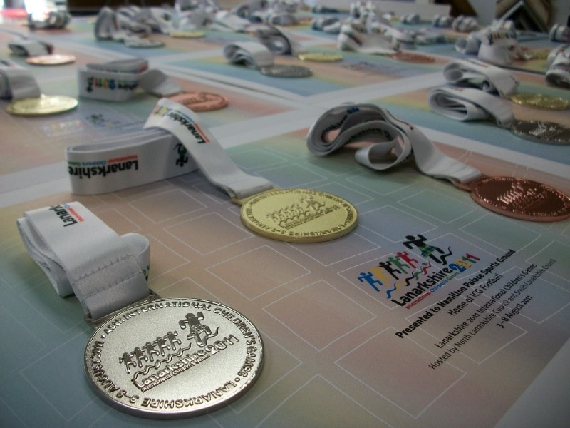 Medals - 2011 International Children's Games