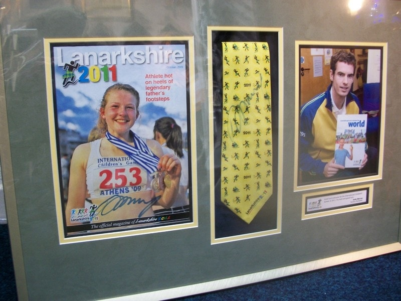 Various types of items can be framed together