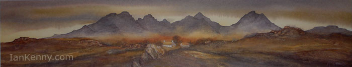 Gillian McDonald - Across to the Cuillins