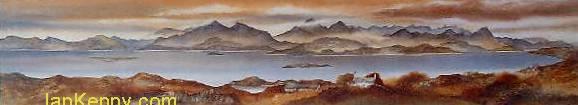 Gillian McDonald - Across to Skye