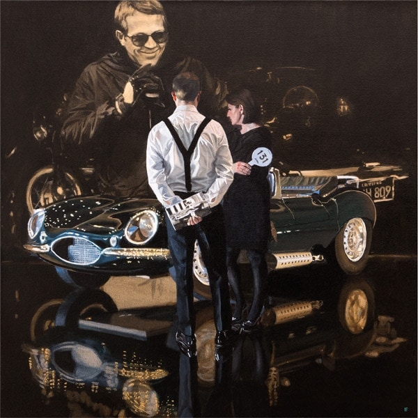 Iain Faulkner - Car Auction, Jaguar XKSS