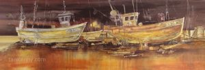 Gillian McDonald - Fishing Boats