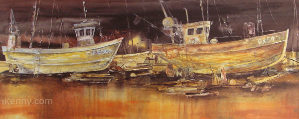 Gillian McDonald - Fishing Boats