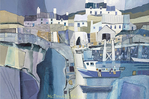 Gillian McDonald - Fishing Village I