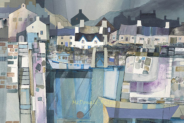 Gillian McDonald - Fishing Village II