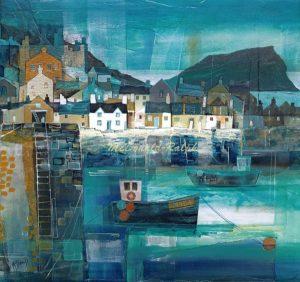Gillian McDonald - Fishing Village III