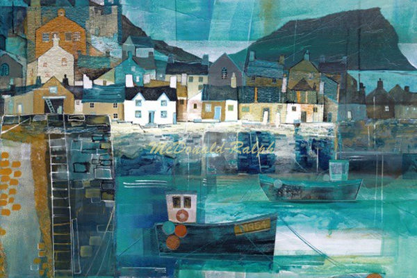 Gillian McDonald - Fishing Village III