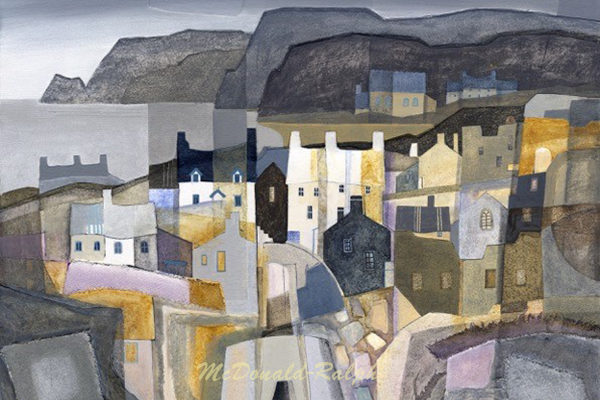 Gillian McDonald - Fishing Village IV