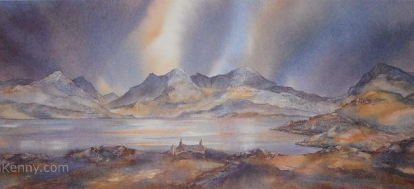 Gillian McDonald - Hebridean Skyline I