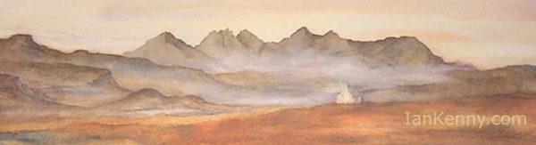Gillian McDonald - Highland Skyline I
