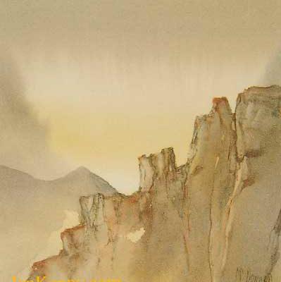 Gillian McDonald - Highland Sunrise