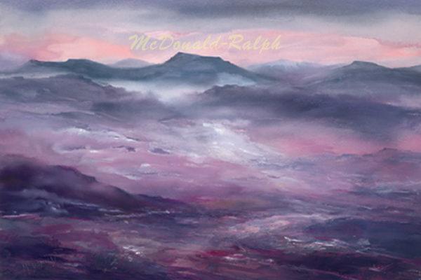 Gillian McDonald - Mauve Hills II