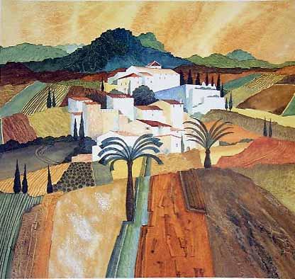 Gillian McDonald - Mediterranean Village I