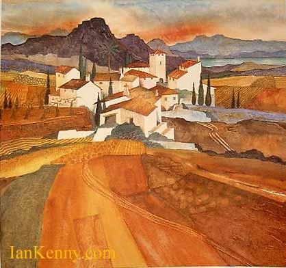 Gillian McDonald - Mediterranean Village II