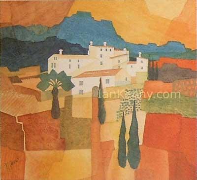 Gillian McDonald - Mediterranean Village V
