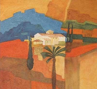 Gillian McDonald - Mediterranean Village VI