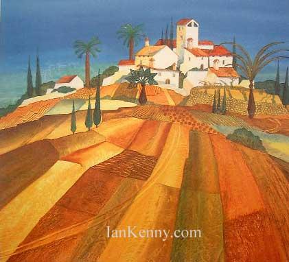 Gillian McDonald - Mediterranean Village VII