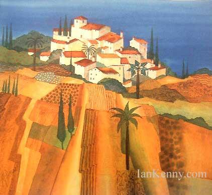 Gillian McDonald - Mediterranean Village VIII