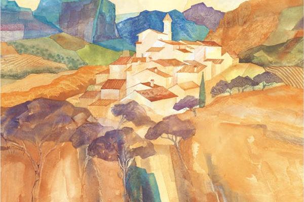 Gillian McDonald - Mediterranean Village XI