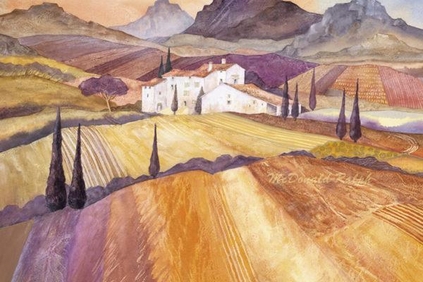 Gillian McDonald - Mediterranean Farm I