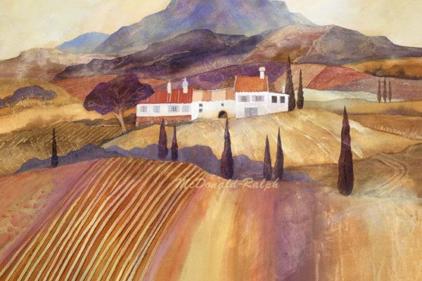 Gillian McDonald - Mediterranean Farm II