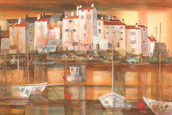 Gillian McDonald - Mediterranean Port 1