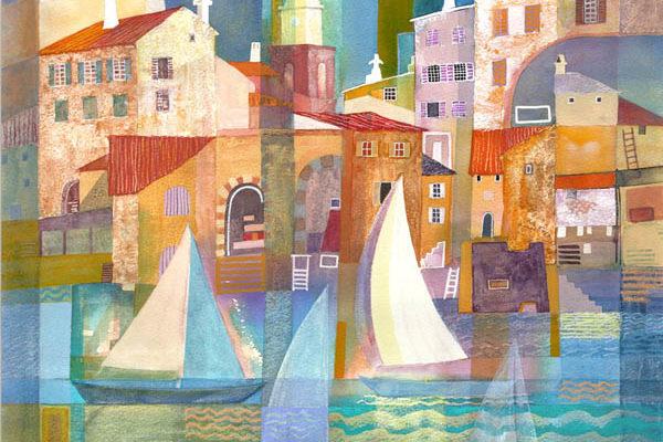 Gillian McDonald - St Tropez I