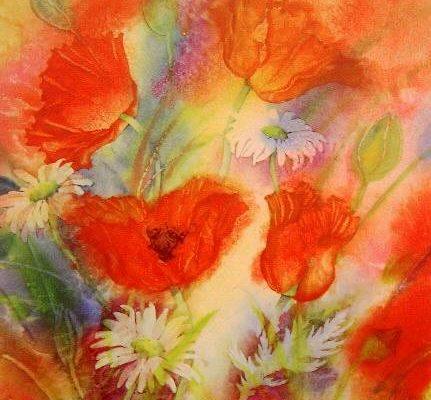 Gillian McDonald - Summer Poppies I