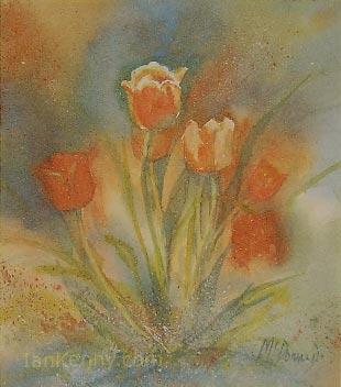 Gillian McDonald - Tulips III