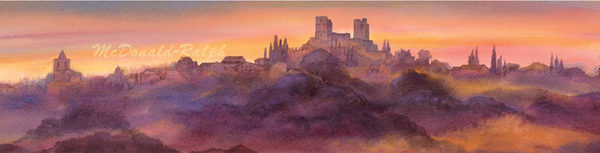Gillian McDonald - Village Skyline