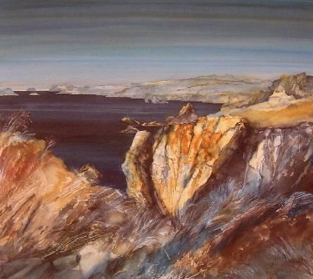 Gillian McDonald - Western Rocks I