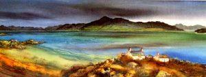 Gillian McDonald - Winter Skyline I