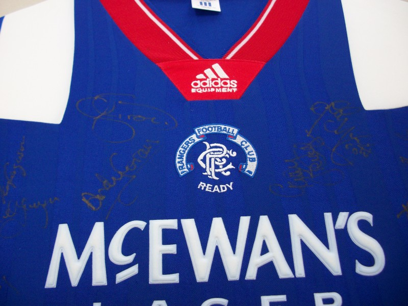 Signed shirts should be properly framed