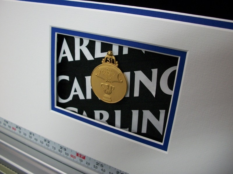 Carling Cup Winners Medal, Season 2010 - 2011