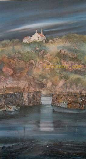 Gillian McDonald - Crail Harbour