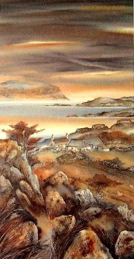 Gillian McDonald - Light on the Loch I