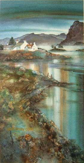 Gillian McDonald - Light on the Loch IV