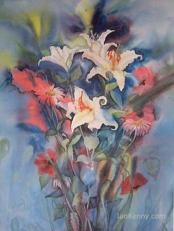 Gillian McDonald - Lilies in Blue