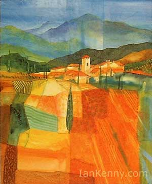 Gillian McDonald - Mediterranean Village IX
