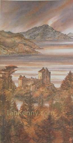 Gillian McDonald - Light on the Loch III