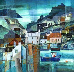 Gillian McDonald - Fishing Village VI