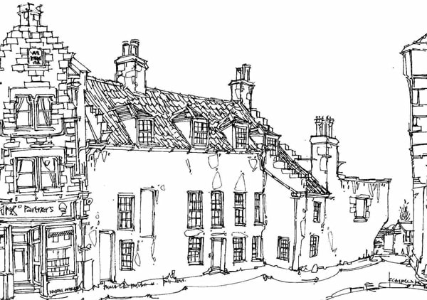 Robert Cairns DA - 2010 Drawings : Dymock's Building