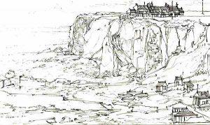 Robert Cairns DA - 2009 Drawings : Auchmithie Harbour 1