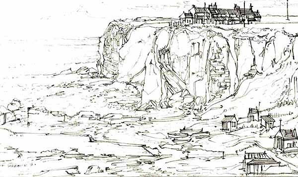 Robert Cairns DA - 2009 Drawings : Auchmithie Harbour 1