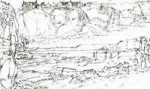 Robert Cairns DA - 2009 Drawings : Auchmithie Harbour 2