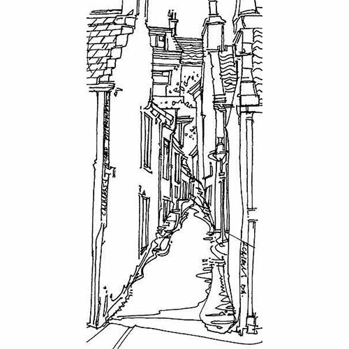 Robert Cairns DA - 2009 Drawings : Calmans Wynd, Pittenweem