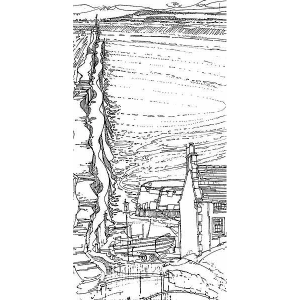 Robert Cairns DA - 2009 Drawings : St Andrews Harbour 2