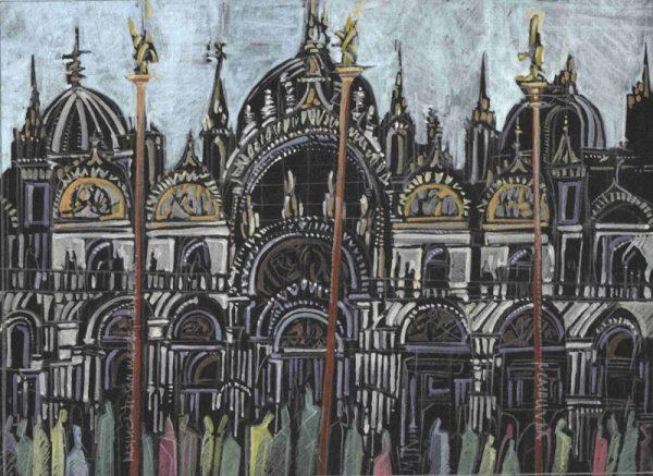 Robert Cairns DA - 2009 Paintings : Basilica di San Marco, Venezia