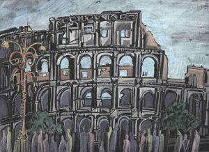 Robert Cairns DA - 2009 Paintings : Colosseo Roma