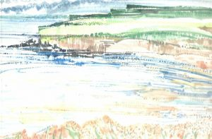 Robert Cairns DA - 2009 Paintings : Lunan Bay 1